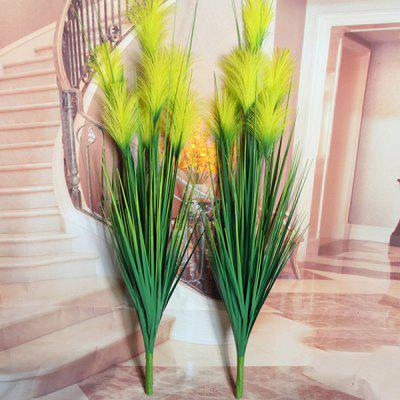 Decorative Yellow Reed Artificial Flower