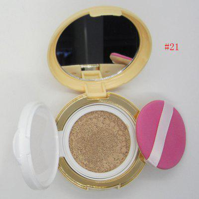 Stylish Flawless Nude Makeup Air Cushion BB Cream with Mirror and Puff