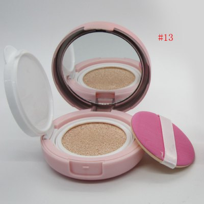 Stylish Brighten Moisturizing Air Cushion CC Cream with Mirror and Puff