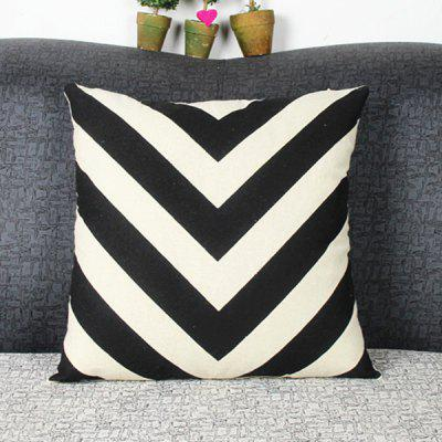 Chic Quality Mouldproof Geometric DIY Home Sofa Arrows Diamond Pillow Case