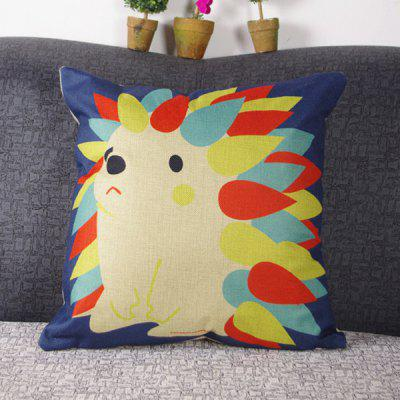 Chic Quality Cute Mouldproof Cartoon Hedgehog Pattern Pillow Case