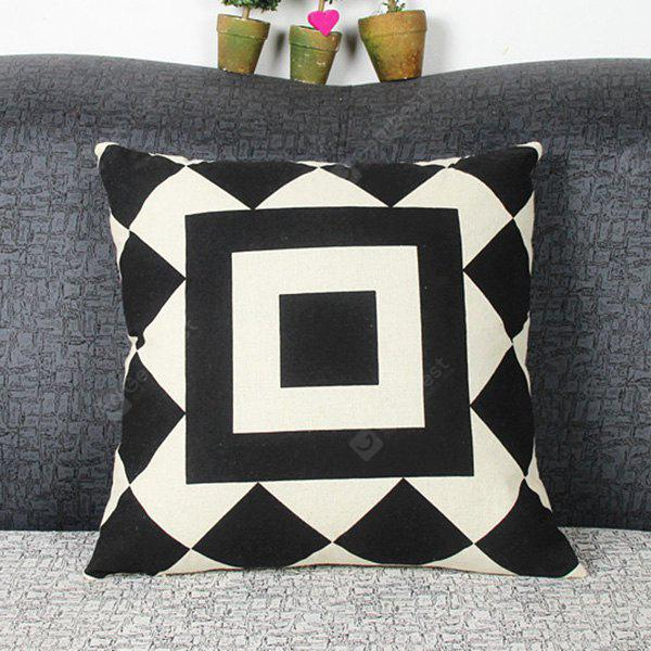 Mordern Style Geometric DIY Home Sofa Square Diamond Mouldproof Pillow Case