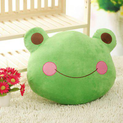 Fashionable Cartoon Frog Prince Cushion Decorative Pillow