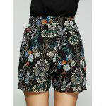 Loose-Fitting Floral Print High Rise Shorts For Women for sale