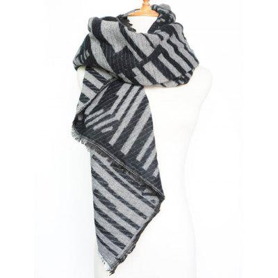 Stylish Geometry Stripe Scarf