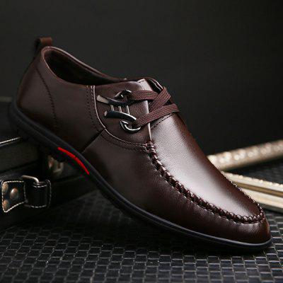 Metal Design Casual Shoes For Men