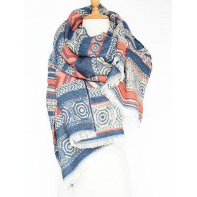 Chic Geometry Scarf