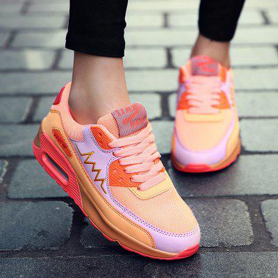 Fashion Colour Splicing and Breathable Design Athletic Shoes For Women