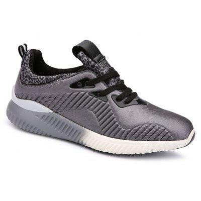 Fashion Lace-Up and Splicing Design Athletic Shoes For Men