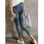 Skinny Ripped Denim Pants For Women deal