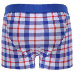 Cherlamode 3PCS (Three Color) Tartan Pattern Boxer Briefs For Men deal