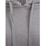 Trendy Long Sleeve Cropped Loose Hoodie photo