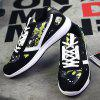Fashion Lace-Up and Color Block Design Athletic Shoes For Men deal