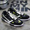 cheap Fashion Lace-Up and Color Block Design Athletic Shoes For Men