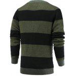 cheap Color Blocks Spliced Sweater