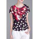 Polka Dot Floral T-Shirt deal