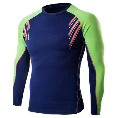 Buy CADETBLUE L Long Sleeve T Shirt for $5.48 in GearBest store