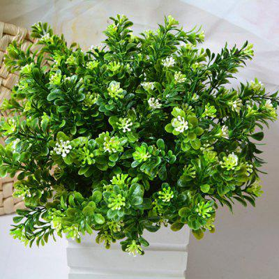 A Bunch of Small Leaf Plant Artificial Flower