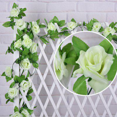 Home Decor Artificial Rose Rattan Artificial Flower
