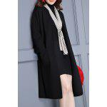Double Pockets Long Knit Cardigan deal