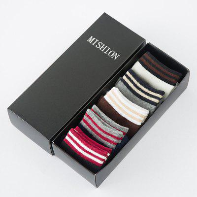 One Set Stripe Pattern Lovers Socks