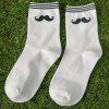 One Set Moustache Pattern Socks photo