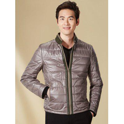 Stand Collar Panel Padded Jacket ODM Designer