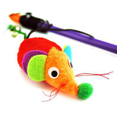 Hand Shank Mouse Tail With Small Bell Cat Toy