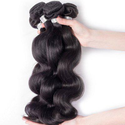 1Pcs 5A Remy Body Wave Indian Hair Weave