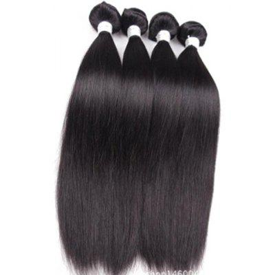 1Pcs 5A Remy Straight Indian Hair Weave