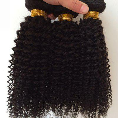 1Pcs 5A Remy Kinky Curly Indian Hair Weave