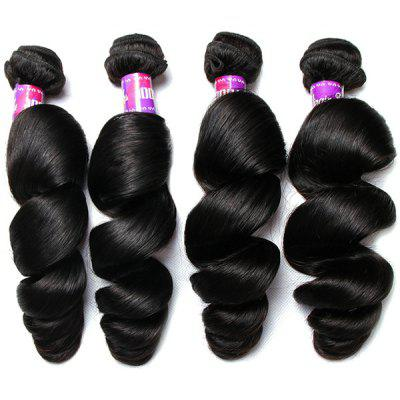 1Pcs 5A Remy Loose Wave Indian Hair Weave