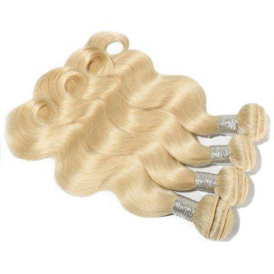 Sparkling 1Pcs 5A Remy Body Wave Indian Hair Weave