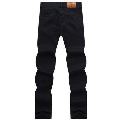 Solid Color Zipper Fly Straight Leg Jeans For MenMens Pants<br>Solid Color Zipper Fly Straight Leg Jeans For Men<br><br>Closure Type: Zipper Fly<br>Fit Type: Regular<br>Material: Jeans<br>Package Contents: 1 x Jeans<br>Pant Length: Long Pants<br>Wash: Bleach<br>Weight: 0.3640kg