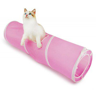 Breathable Folding Spiral Pet Toy Cat Tunnel