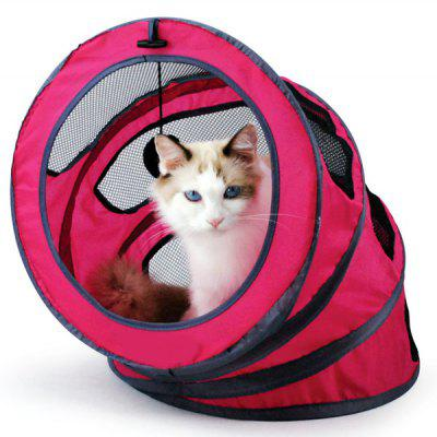 Folding Spiral Pet Toy Cat Tunnel