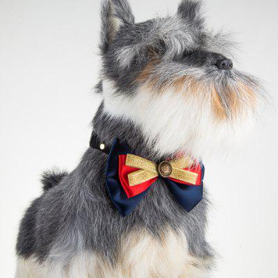 Multilayered Bowknot Adjustable Pet Collar