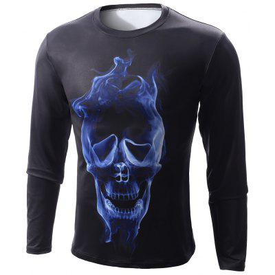 Long Sleeve Skull T Shirts