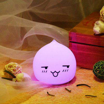 Colorful LED Waterdrop Emoticon Cartoon Ombre Night Light