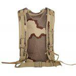 Camuflagem Print Mesh Splicing Backpack - DIGITAL SELVA CAMUFL