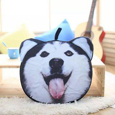 Detachable Dog Animal  Shape Short Plush Sponge Padding Sofa Cushion