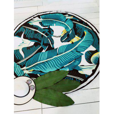 Stylish Fringed Printed Women's Round Beach Mat