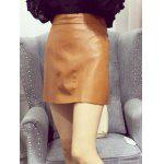 Slimming PU Leather Skirt deal