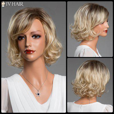 Short Side Bang Curly Siv Real Natural Hair Wig