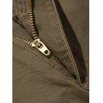 Plus Size Zipper Fly Pockets Design Cargo Pants for sale