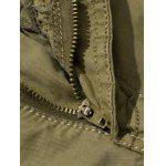 Plus Size Straight Leg Pockets Design Cargo Pants for sale