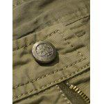 Plus Size Straight Leg Pockets Design Cargo Pants deal