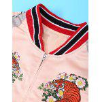 Tiger Embroidery Long Sleeve Jacket deal