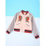 Tiger Embroidery Long Sleeve Jacket