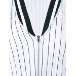 Striped Letter Long Sleeve Jacket for sale